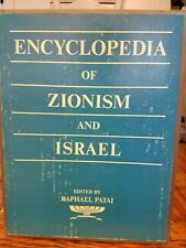 Encyclopedia of Zionism and Israel by Raphael Patai 1971, 2 vol set NEW see info