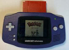 Nintendo Game Boy Advance AGB-001 PURPLE Tested Very Good Condition