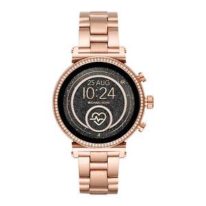 Michael Kors MKT Smartwatch MKT5063 Stainless Steel Digital Quartz Rose Sofie