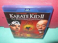 KARATE KID II - MACCHIO - MORITA  - BLU-RAY -