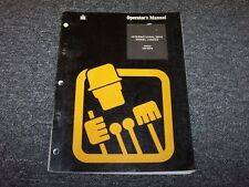 International Harvester 560B Wheel Loader Owner's Owner Operator User Manual