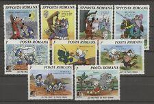 Walt Disney, Twain, Grimm - Rumänien - 4209-4217 ** MNH 1985