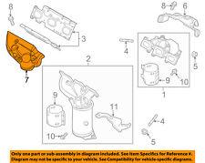 FORD OEM Exhaust Manifold-Heat Shield Left FB5Z9A462B