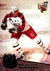 1992-93 Ultra AS #5 Kevin Stevens, Paul Coffey