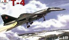 T-4 (SOTKA) SOVIET SUPERSONIC STRATEGIC BOMBER 1/72 AMODEL 72001