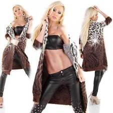 Mehrfarbige taillenlange Damen-Pullover & -Strickware ohne Verschluss
