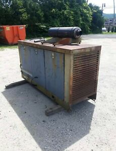 Well Maintained 30KW Kohler Generator Propane 800 Hrs Enclosed