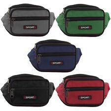 3 Fächer Bauchtasche Hüfttasche Gürteltasche Angeltasche
