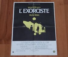 ORIGINAL MOVIE POSTER THE EXORCIST 'L'EXORCISTE' 1974 FRENCH ONE PANEL 'PETITE'