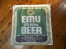 Emu bitter export bar man cave flag printed poster games room pool room triumph