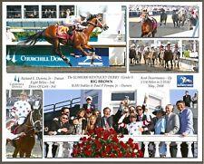 "2008 - BIG BROWN - 5 Photo Kentucky Derby Composite - 10"" x 8"""