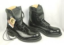 Mens Chippewa Black Leather Melo – Veal Boots Style 20242 – Size 10 - New w/ COA
