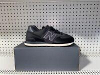 New Balance 574 Classic Mens Athletic Lifestyle Shoes Size 10 Black ML574LHF
