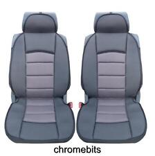 PREMIUM GREY-BLACK COMFORT PADDED SEAT COVERS FOR HYUNDAI I20 SANTA FE IX20 IX35