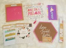 LOT of 11 College Dorm Supplies Corkboard MousePad Planner & Wall Decor (DSDPS)