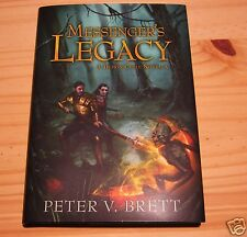 PETER V BRETT MESSENGER'S LEGACY US SIGNED LIMITED #33 NEW UNREAD MESSENGERS