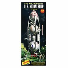 U.S. Moon Ship 1:200 Lindberg kit of a Dr. wernhe von Braun inspired conceptual