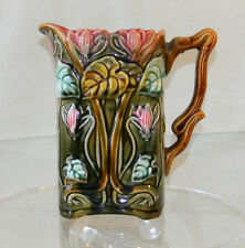 Fre Onnaing Majolica PITCHER Made in France #726