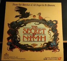 The Secret of NIMH [Extended Play, 1982 Laserdisc]