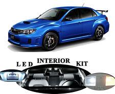 LED Package - Interior + License + Vanity + Reverse for Subaru WRX / STI  12Pcs