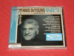 4BT DENNIS DeYOUNG 26 East Volume 2  with BONUS TRACK JAPAN CD