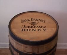 Authentic Branded and Engraved TN Honey Whiskey Barrel-FREE SHIPPING