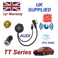 For AUDI TT Bluetooth USB Music Streaming Module MP3 Charger HTC Nokia LG Sony08