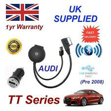 Para Audi Tt Bluetooth USB Streaming de Música Módulo MP3 Cargador HTC Nokia Lg