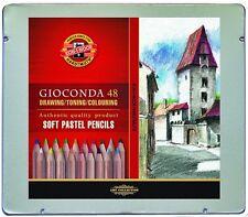KOH-I-NOOR GIOCONDA Drawing Soft Pastel Pencils 48 Colours