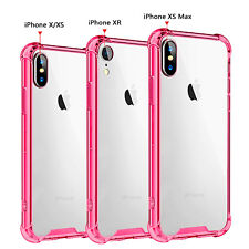 For iPhone XS Max XR X Mosafe® Ultra Thin Shockproof Clear Back Hard Case Cover