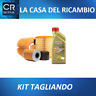 KIT TAGLIANDO 4 LT CASTROL 5W30+ 4 FILTRI VW POLO 9N 1.4 16V 75 CV dal 2001