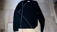 Vintage 80s 70s knit black Mod Casual Terrace Gabicci style