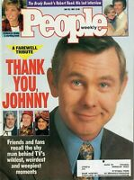 People Magazine May 25 1992 Tribute Johnny Carson Princess Diana Robert Reed