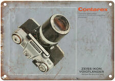 "Contarex Zeiss Ikon Film Camera 10"" x 7"" reproduction metal sign"