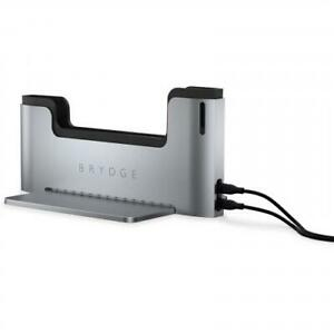 """Brydge Vertical Dock for Macbook Pro 13""""  with Thunderbolt 3 Port - Space Gray"""