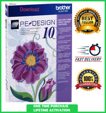 Brother Pe Design 10 Embroidery ✅ Full Software 2020 ✅ Fast Delivery ✅ Free Gift