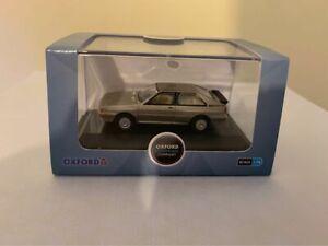 BNIB OO GAUGE OXFORD DIECAST 1:76 76AQ003 Audi Quattro Sable Brown Metallic Car