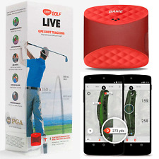 """NEW 2018"" GAME GOLF LIVE GOLF TRACKING SYSTEM FOR APPLE / ANDROID & MORE"