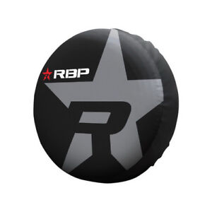 RBP Rolling Big Power Spare Tire Cover White Fits 29.5 - 32.5 inch tire