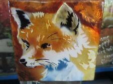 Fox~ Capiz Shell Trinket Box 1568*