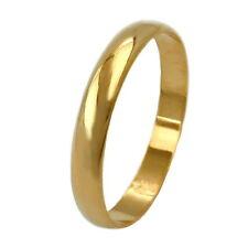GOLD DOUBLE *** Trauring Ehering vergoldet 3 mm