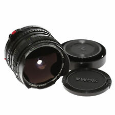 SIGMA filtermatic Fisheye MC 16mm 1:2,8 con pacchetto accessori per Canon FD