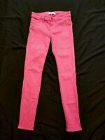 Rich & Skinny Women's Pink Legacy Skinny Jeans Size 26
