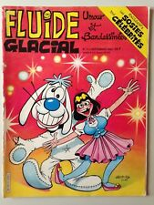 FLUIDE GLACIAL N°111 SEPT 1985 COUV ILL. GOTLIB