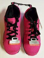 DANSKIN NOW Girls Athletic Lightweight Pink Running Shoe Size 1 2 3 4 or 6 *NEW
