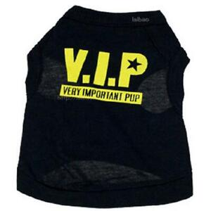 Small Dog Puppy Clothes Male Pet Funny Shirt Boy Pup Vest for Chihuahua Yorkie