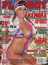US Playboy Magazine 2010-12 Nina Bajerska, Ashley Hobbs, Kendra Wilkinson