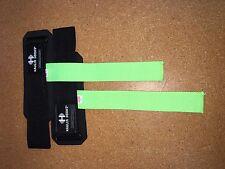 Hypertrophy  Haulin Hooks Wrist Support Straps (No Hooks)-Green **STORE RETURN**
