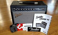 "Fender Super Champ X2 15-Watt 1x10"" Tube Combo Amp Amplifier w/Paperwork"