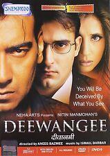 DEEWANGEE (AJAY DEVGAN, URMILA, AKSHAYE)- BOLLYWOOD DVD